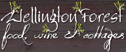 Wellington forest ferguson valley collie accomodation restaurant food weddings Logo